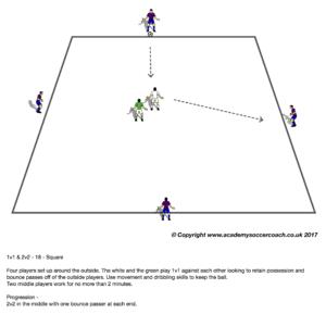 1v1 & 2v2 - 18 - Square